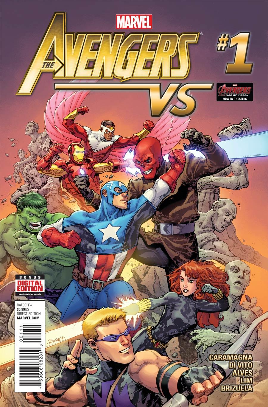 Avengers vs #1 Cover A Regular Tom Raney Cover