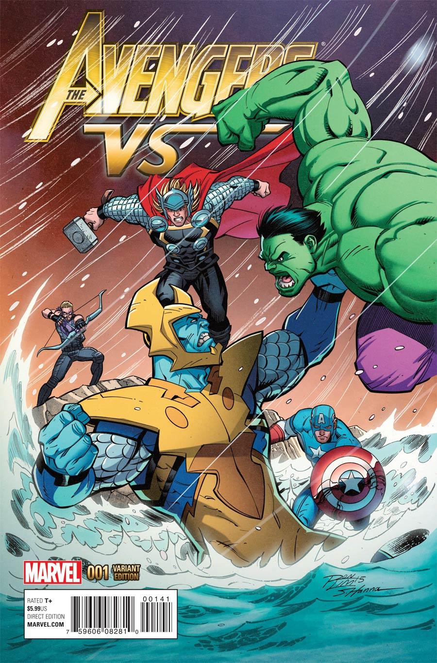 Avengers vs #1 Cover D Variant Ron Lim Cover