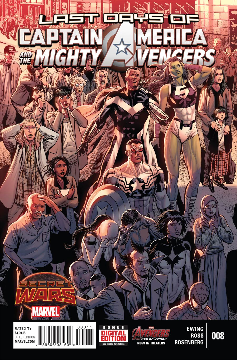 Captain America And The Mighty Avengers #8 (Secret Wars Last Days Tie-In)