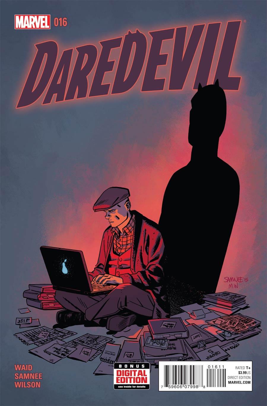 Daredevil Vol 4 #16 Cover A Regular Chris Samnee Cover