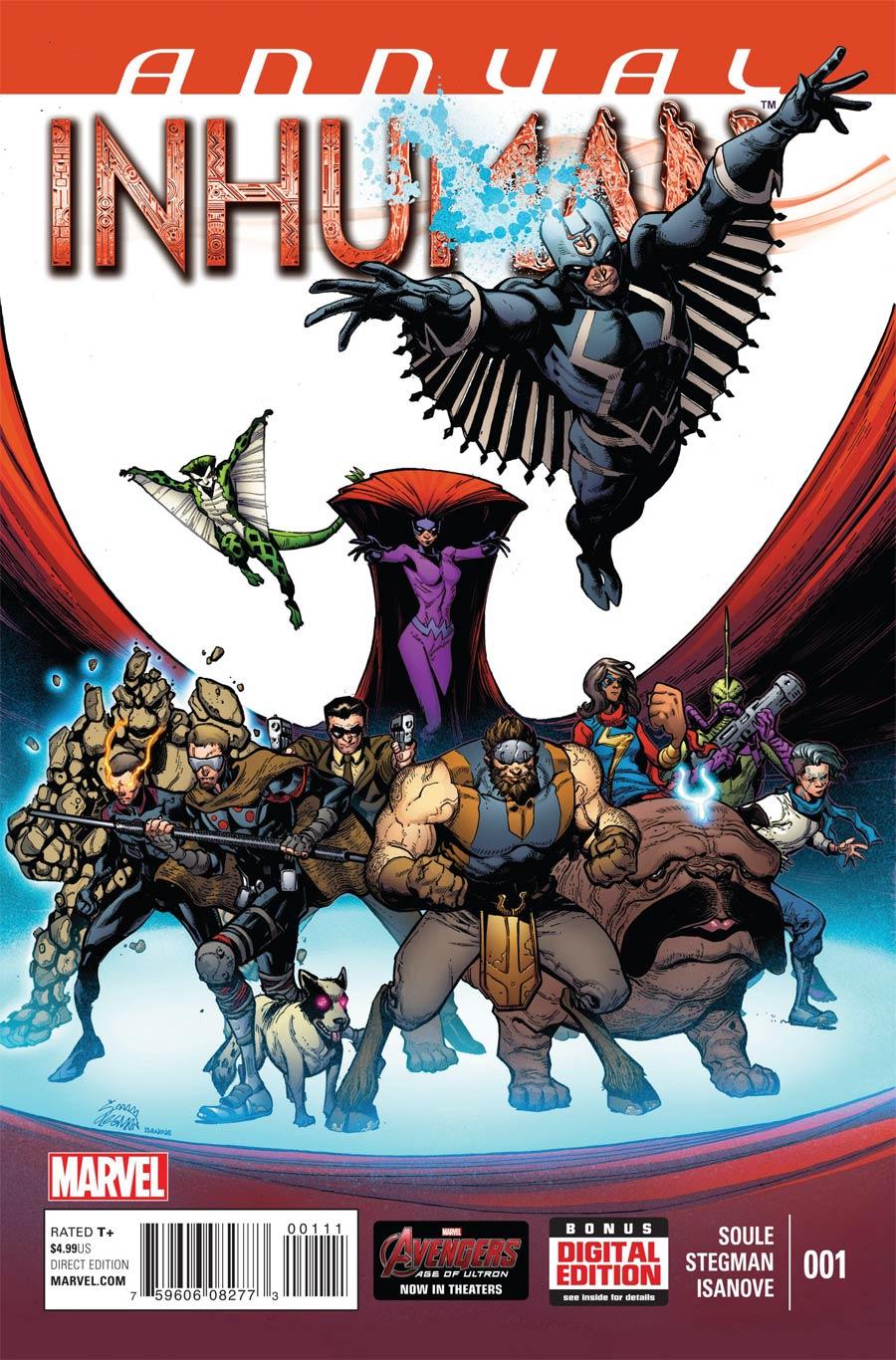 Inhuman Annual #1 Cover A Regular Ryan Stegman Cover