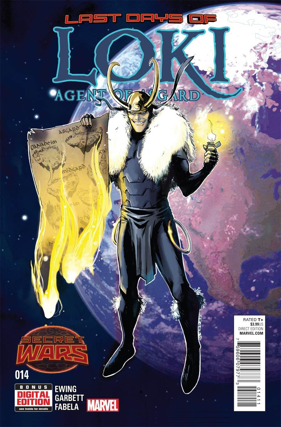 Loki Agent Of Asgard #14 (Secret Wars Last Days Tie-In)