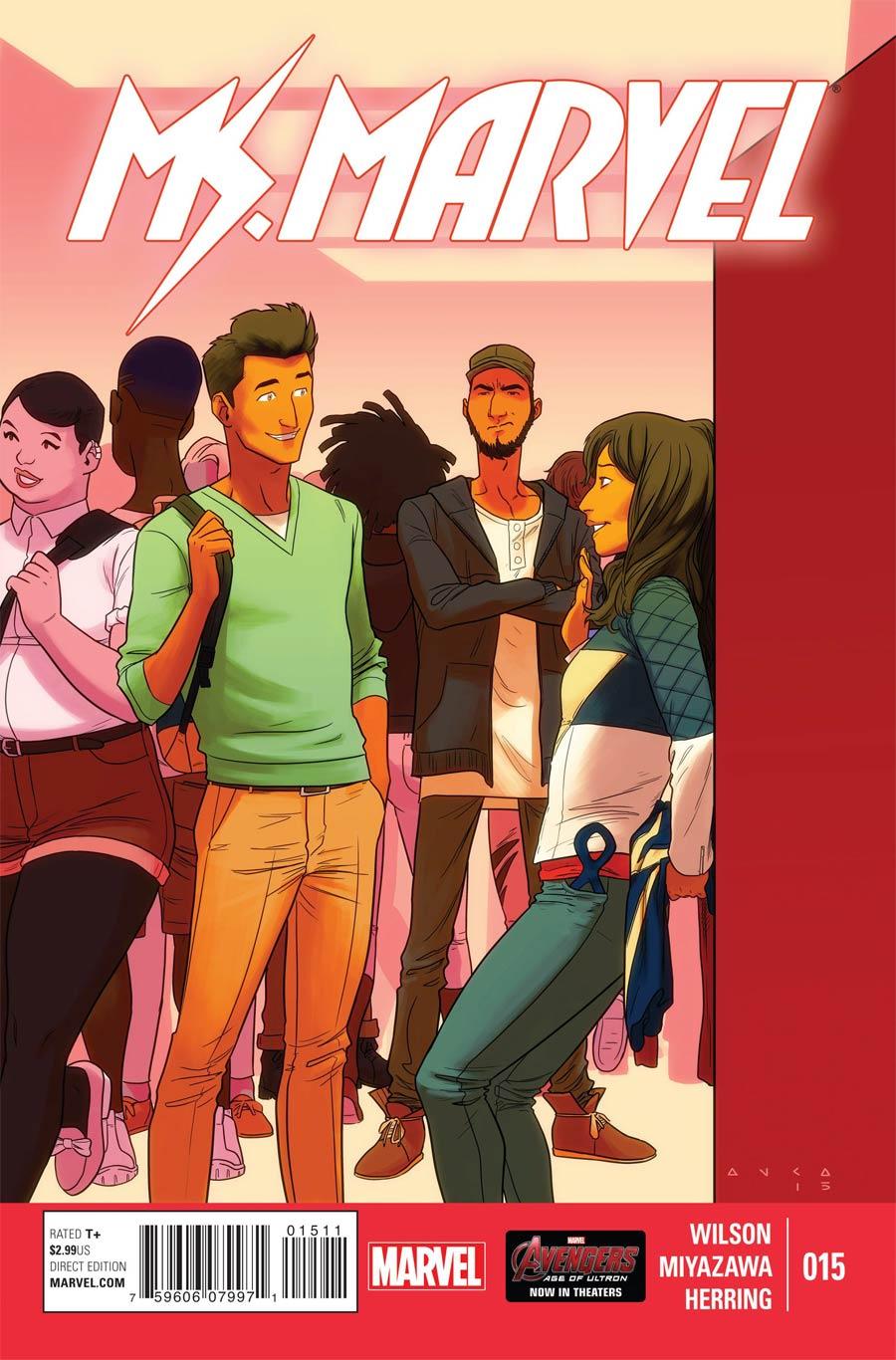 Ms Marvel Vol 3 #15 Cover A Regular Kris Anka Cover