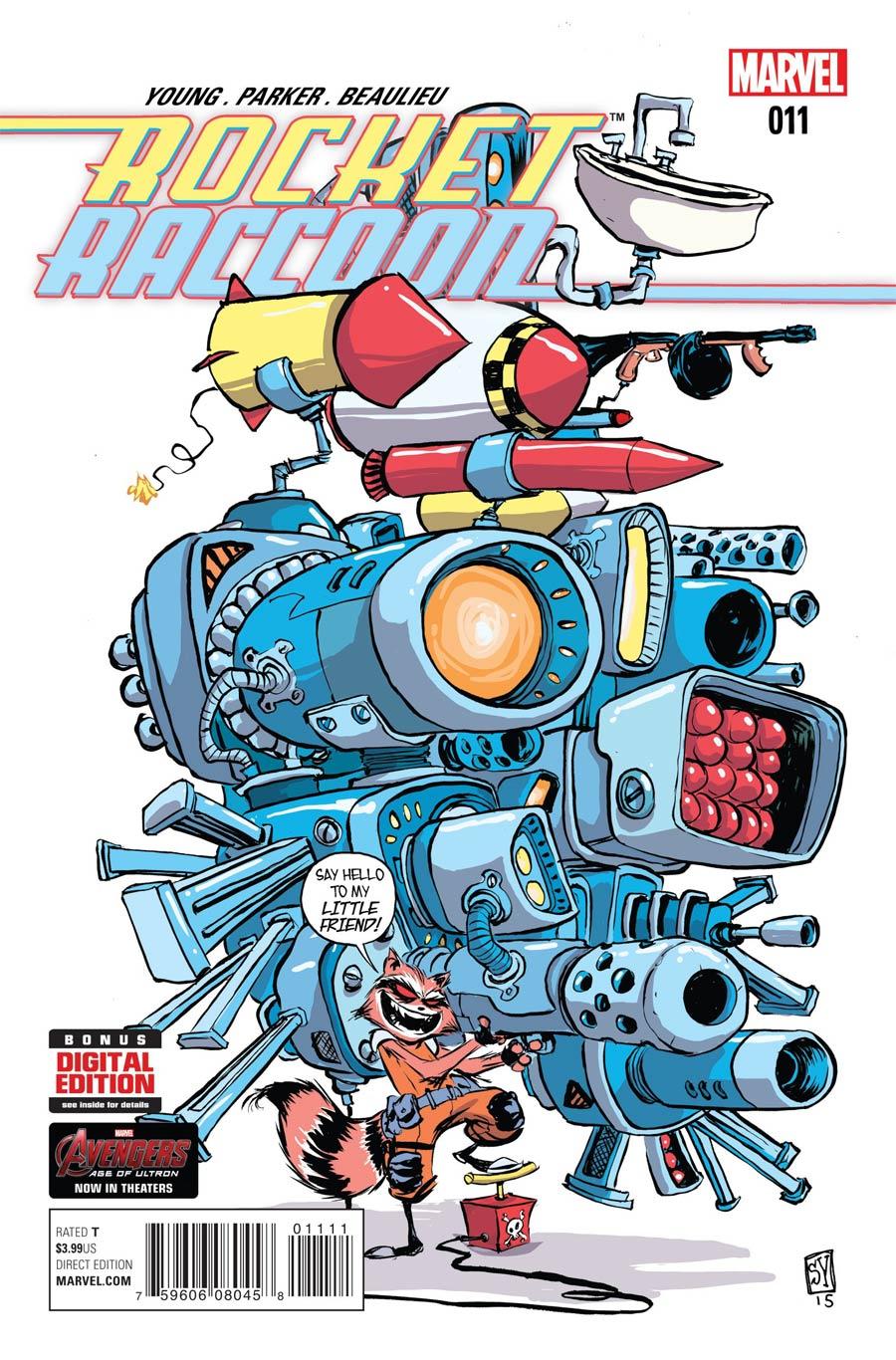 Rocket Raccoon Vol 2 #11