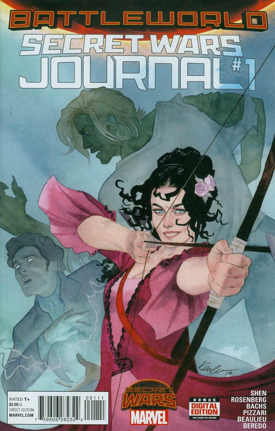Secret Wars Journal #1 Cover A Regular Kevin Wada Cover (Secret Wars Battleworld Tie-In)