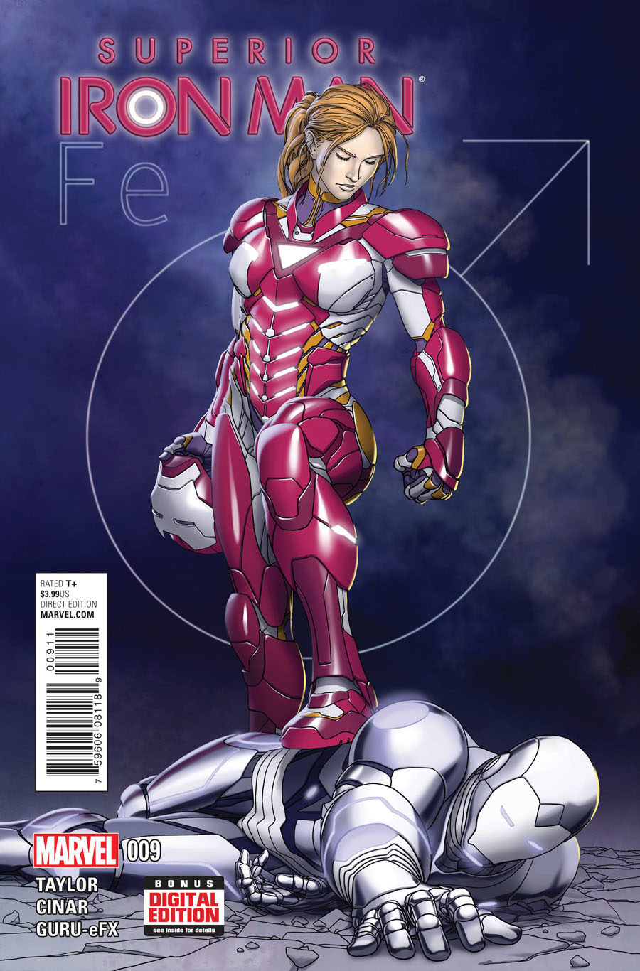 Superior Iron Man #9 Cover A Regular Mike Choi Cover