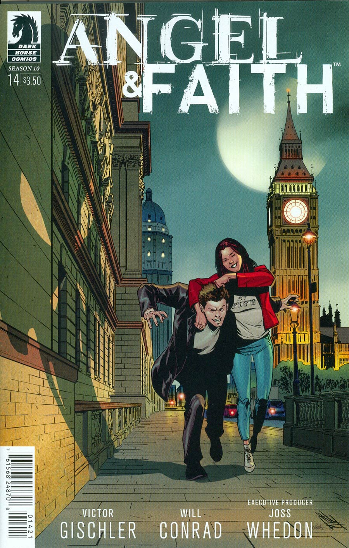 Angel And Faith Season 10 #14 Cover B Variant Mike Norton & Mark Englert Cover