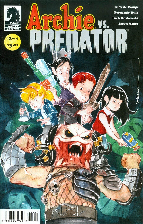 Archie vs Predator #2 Cover B Variant Dustin Nguyen Cover