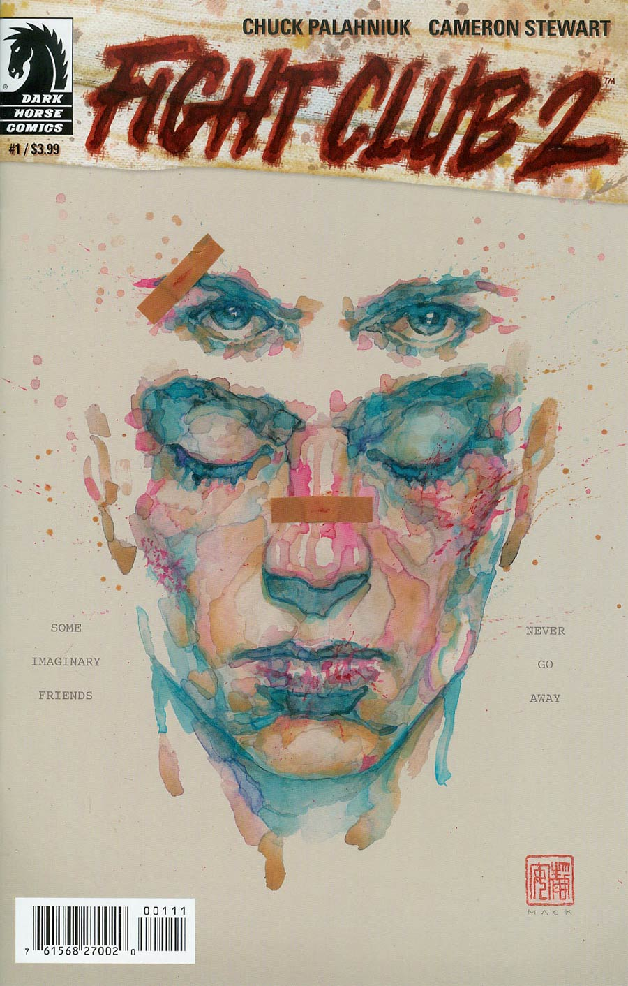 Fight Club 2 #1 Cover A Regular David Mack Cover