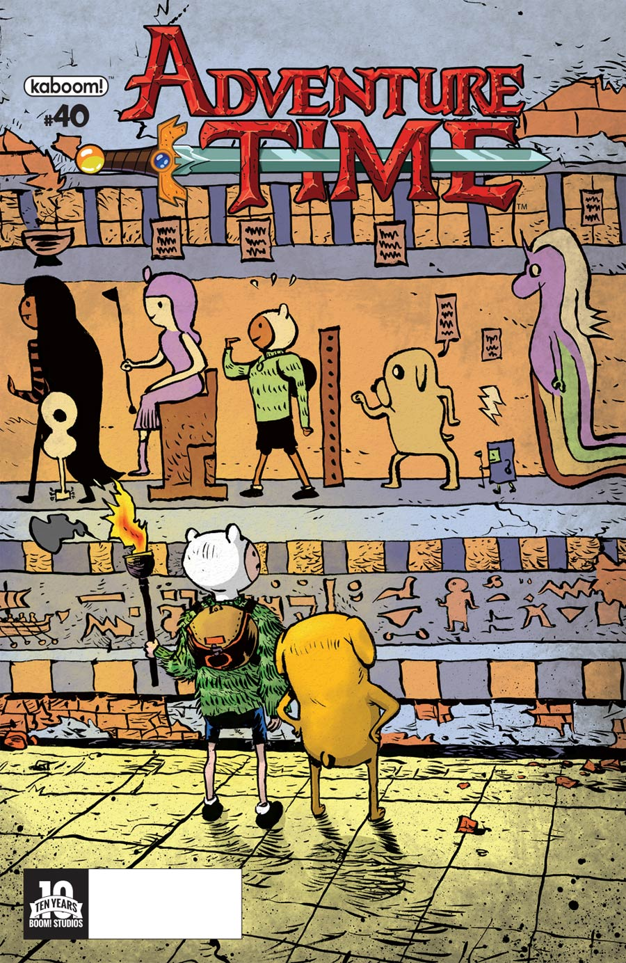 Adventure Time #40 Cover A Regular Paul Pope Cover