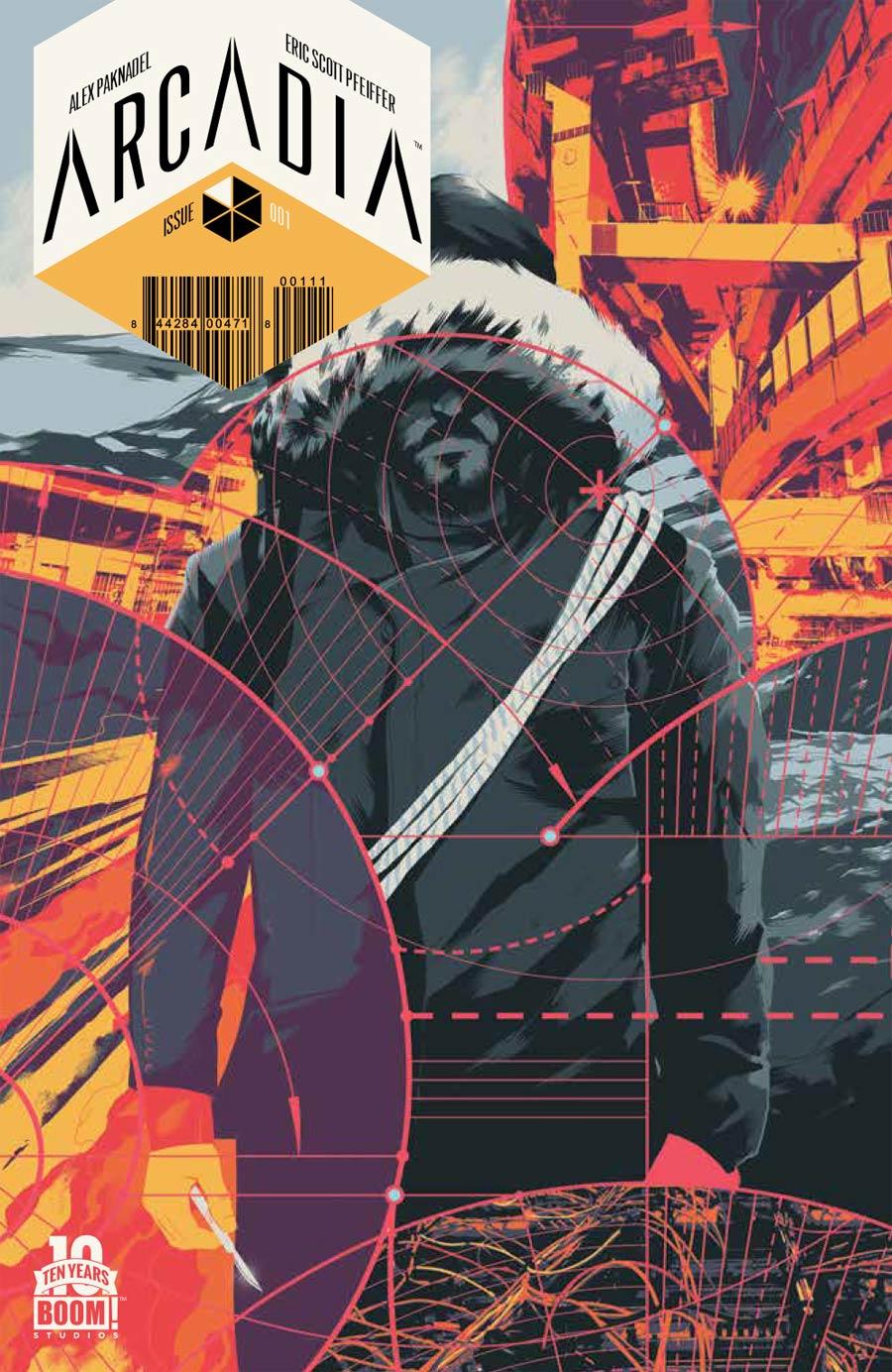 Arcadia #1 Cover A 1st Ptg Regular Matt Taylor Cover