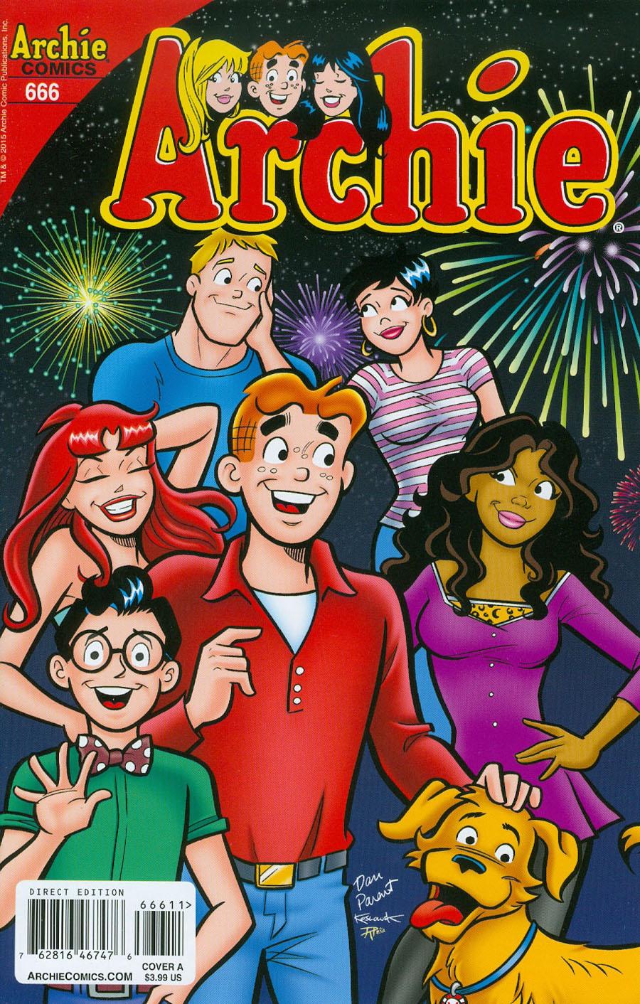 Archie #666 Cover A Regular Dan Parent Cover