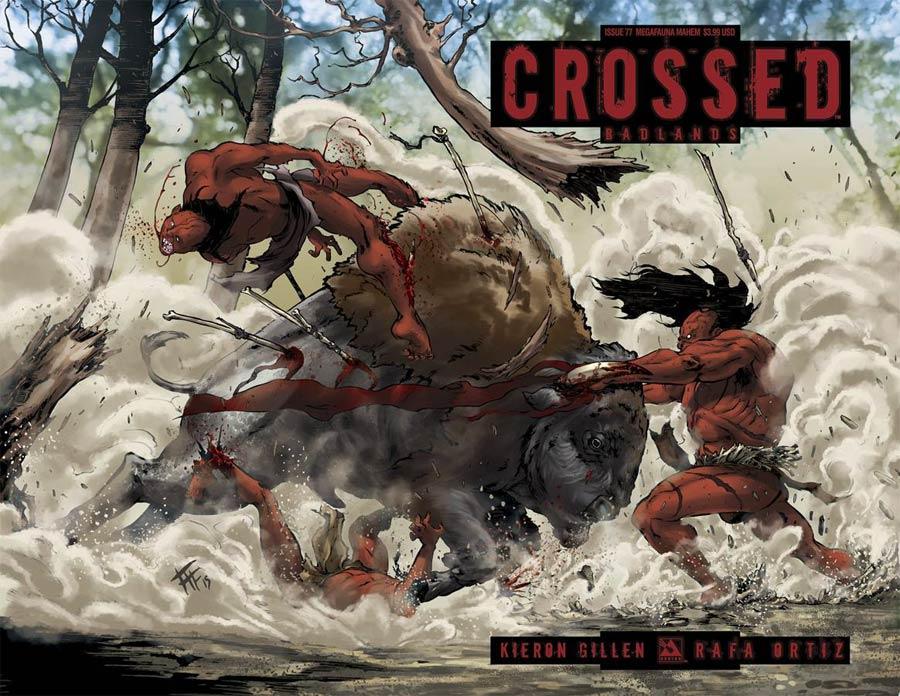 Crossed Badlands #77 Cover E Megafauna Mayhem Cover