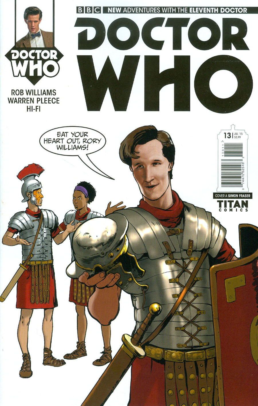 Doctor Who 11th Doctor #13 Cover A Regular Simon Fraser Cover