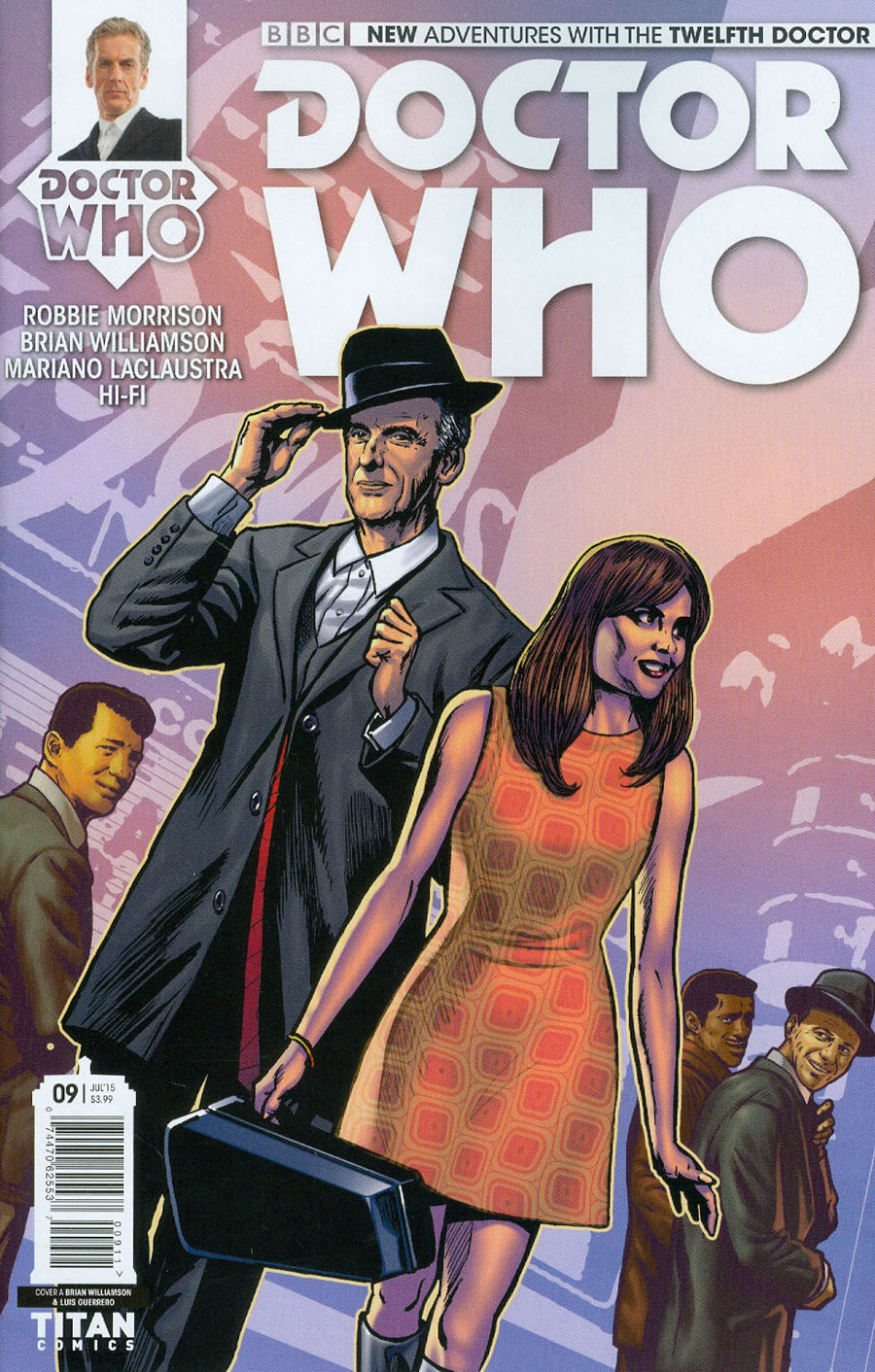 Doctor Who 12th Doctor #9 Cover A Regular Brian Williamson Cover