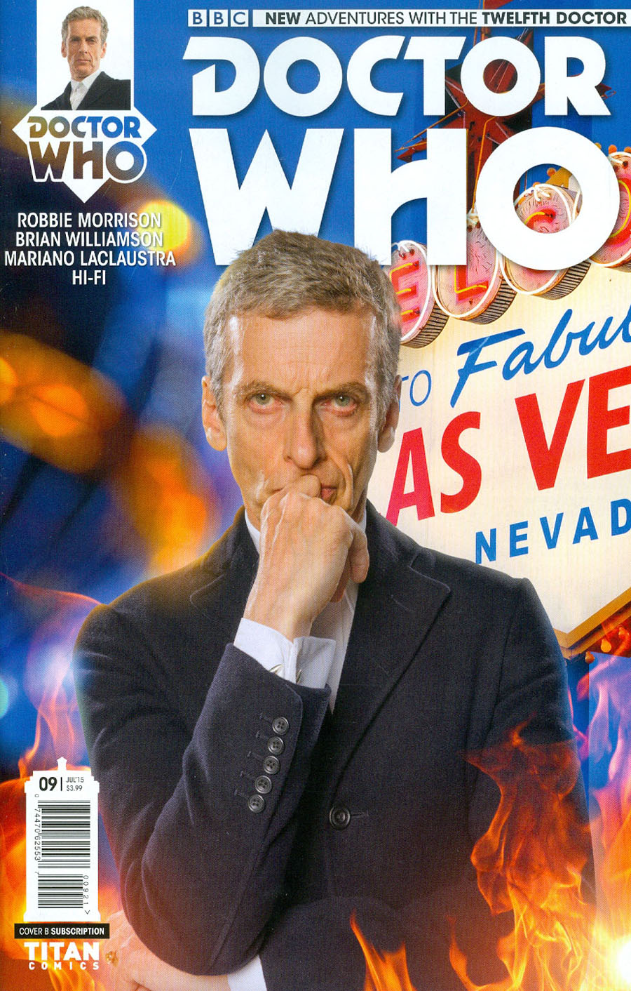Doctor Who 12th Doctor #9 Cover B Variant Photo Subscription Cover
