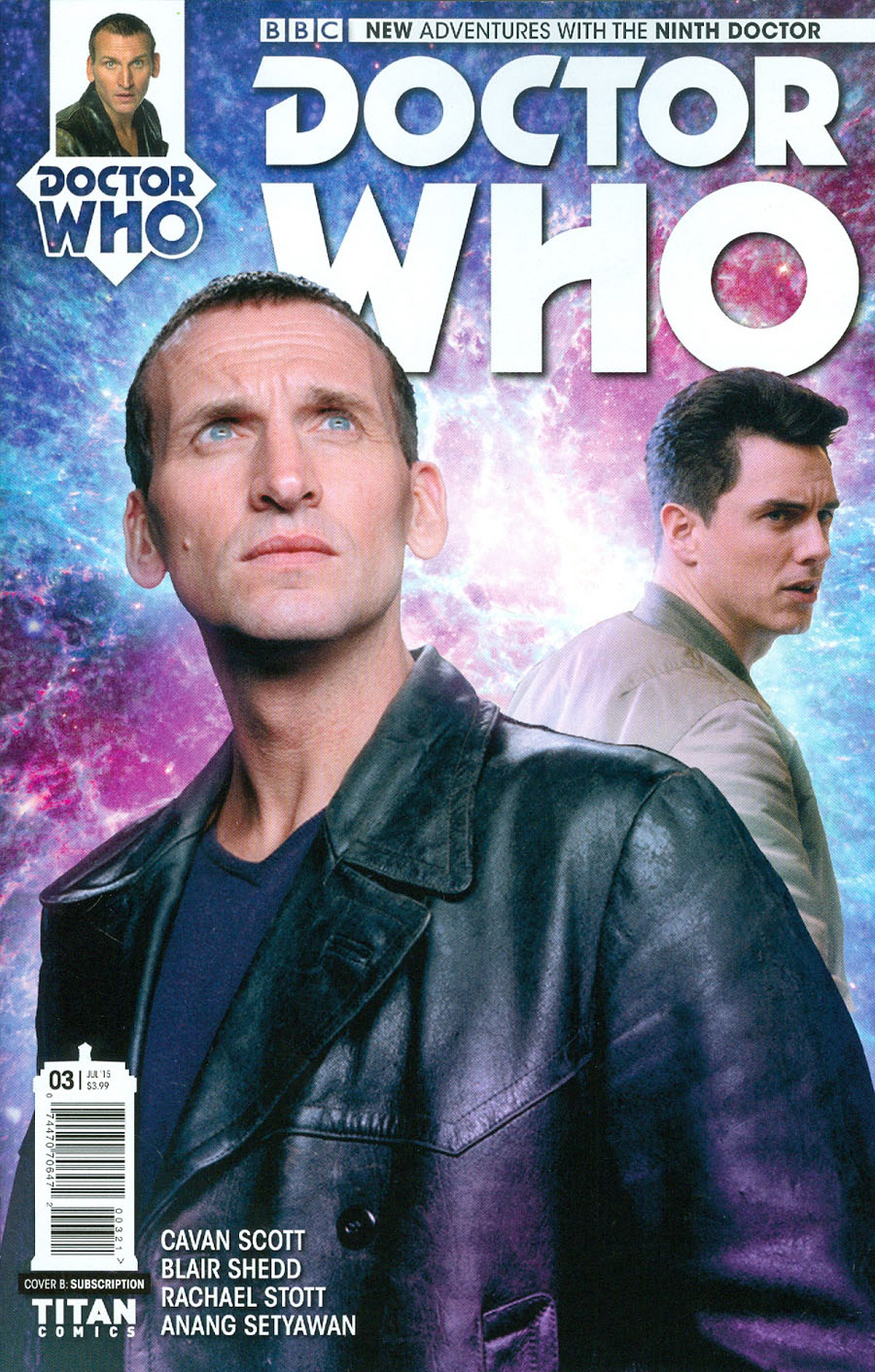Doctor Who 9th Doctor #3 Cover B Variant Photo Subscription Cover