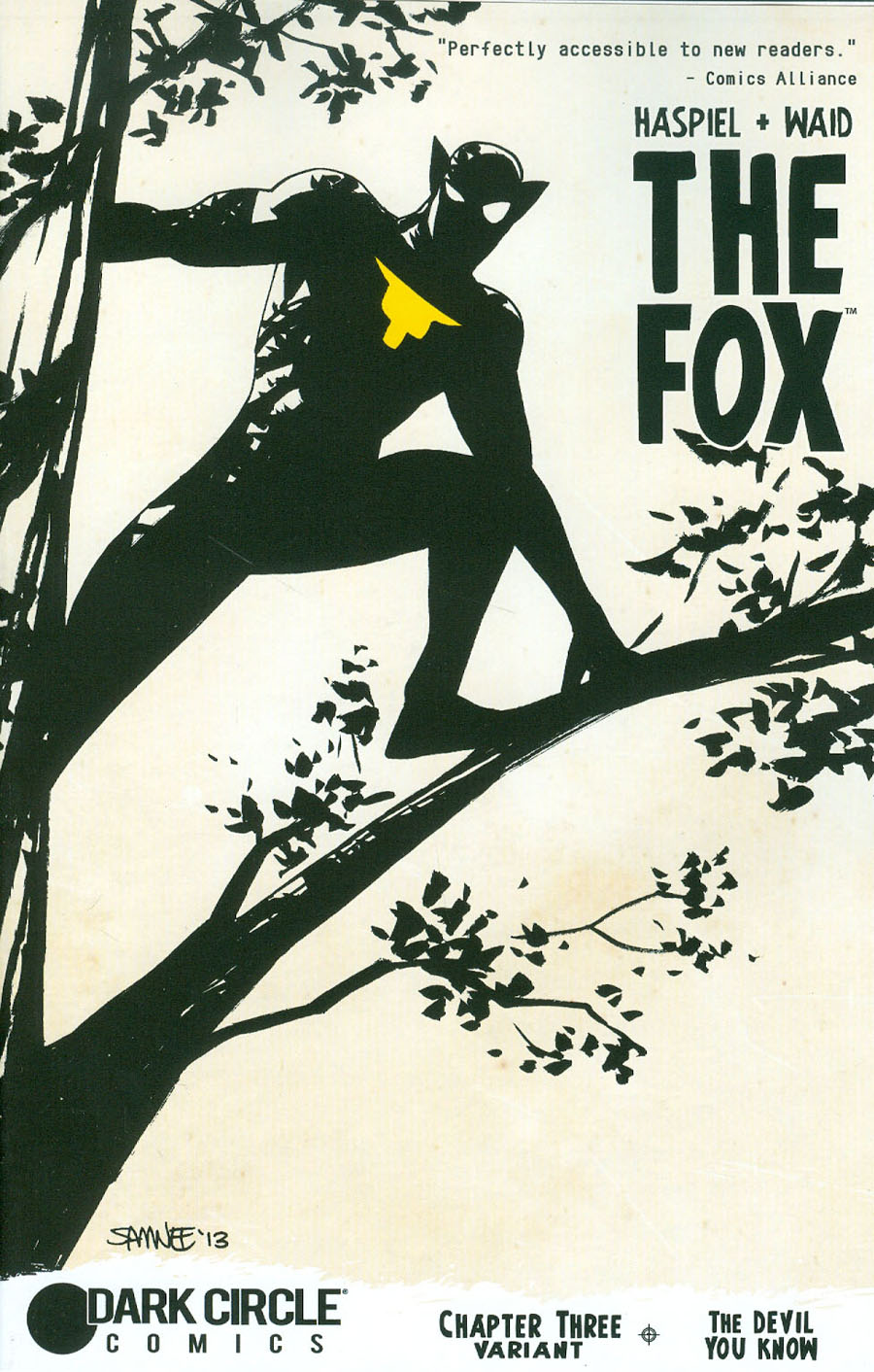 Fox Vol 2 #3 Cover C Variant Chris Samnee Prowling Cover