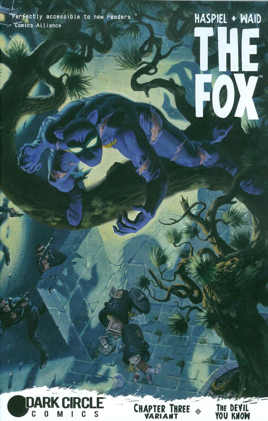 Fox Vol 2 #3 Cover B Variant Steve Rude Fox Hunted Cover