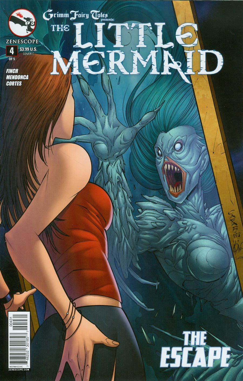 Grimm Fairy Tales Presents Little Mermaid #4 Cover C Giuseppe Cafaro