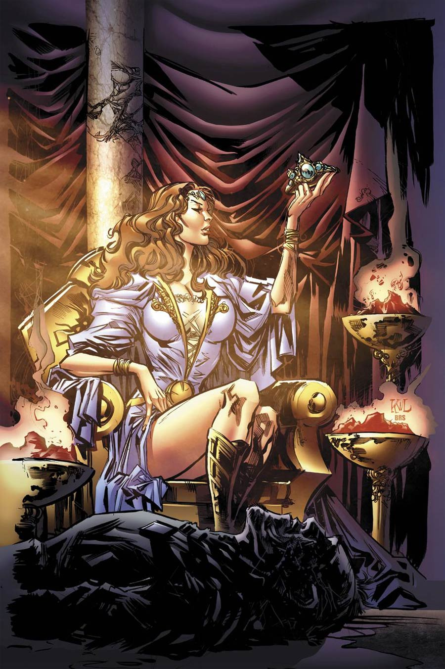 Grimm Fairy Tales Presents Oz Reign Of The Witch Queen #2 Cover A Ken Lashley