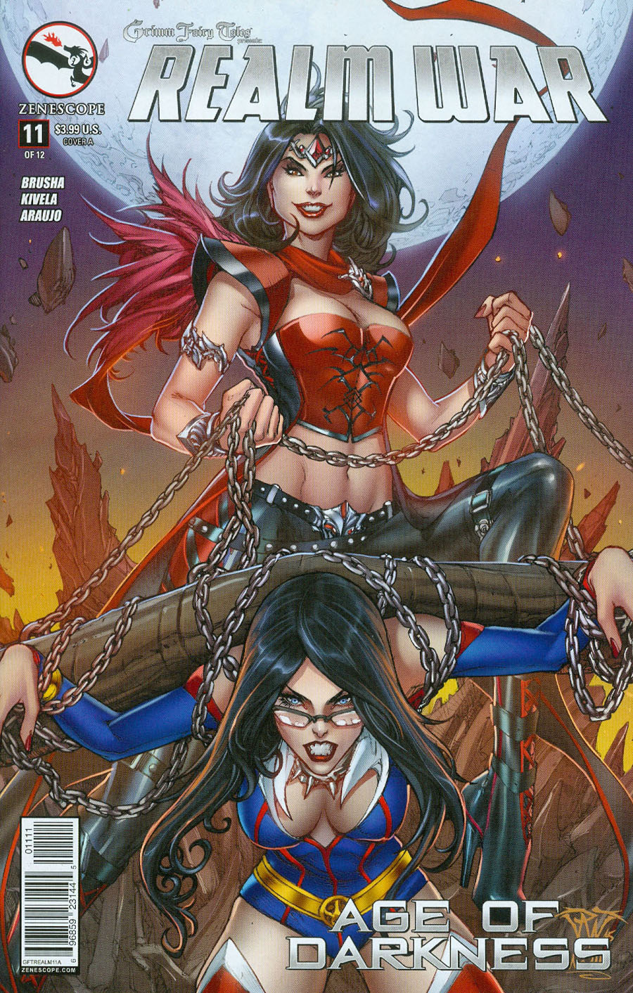 Grimm Fairy Tales Presents Realm War #11 Cover A Paolo Pantalena (Age Of Darkness Tie-In)