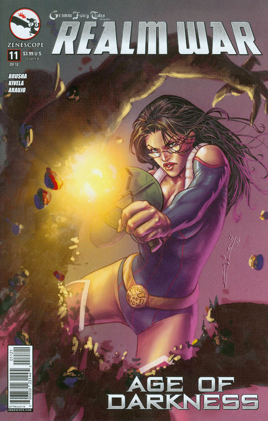 Grimm Fairy Tales Presents Realm War #11 Cover B Emilio Laiso (Age Of Darkness Tie-In)