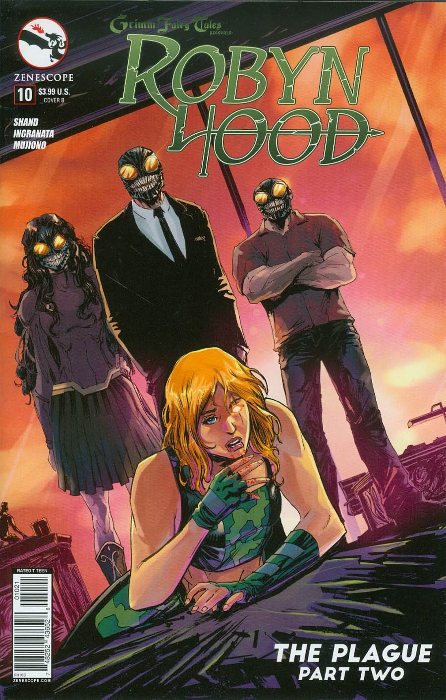 Grimm Fairy Tales Presents Robyn Hood Vol 2 #10 Cover B Tony Brescini