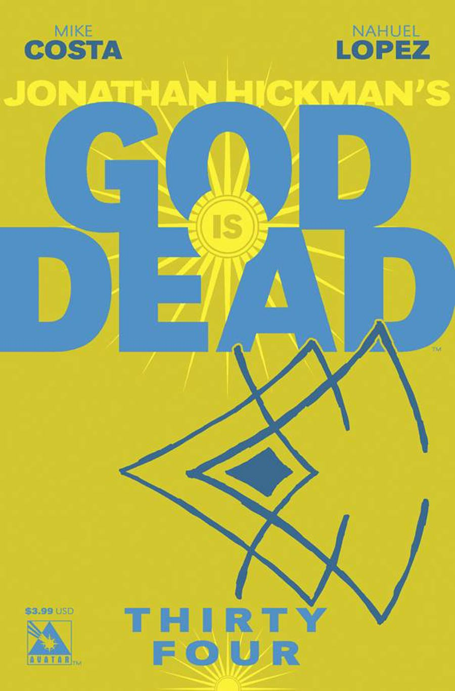 God Is Dead #34 Cover A Regular Cover