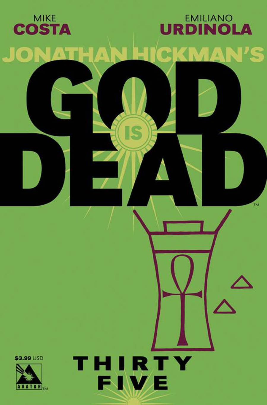 God Is Dead #35 Cover A Regular Cover