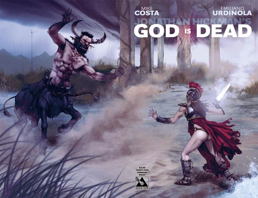 God Is Dead #35 Cover C Carnage Wraparound Cover