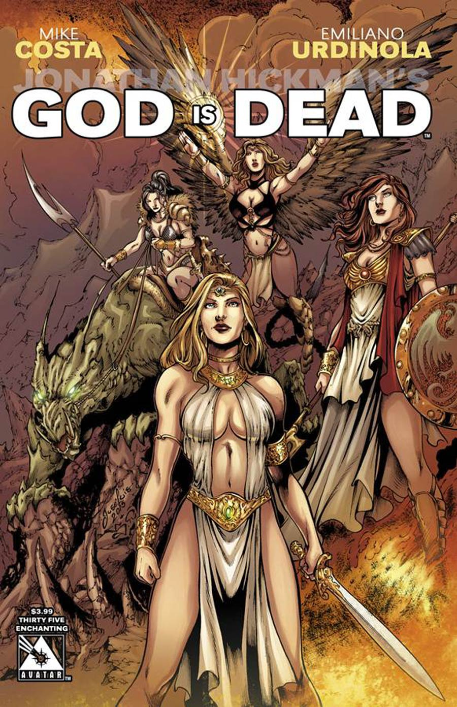 God Is Dead #35 Cover E Enchanting Cover
