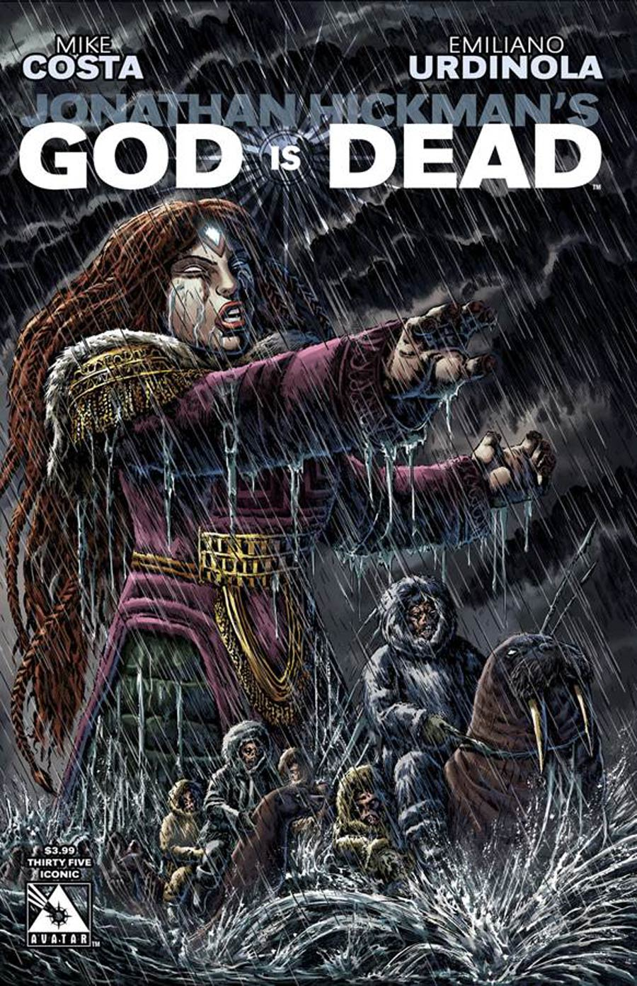 God Is Dead #35 Cover B Iconic Cover