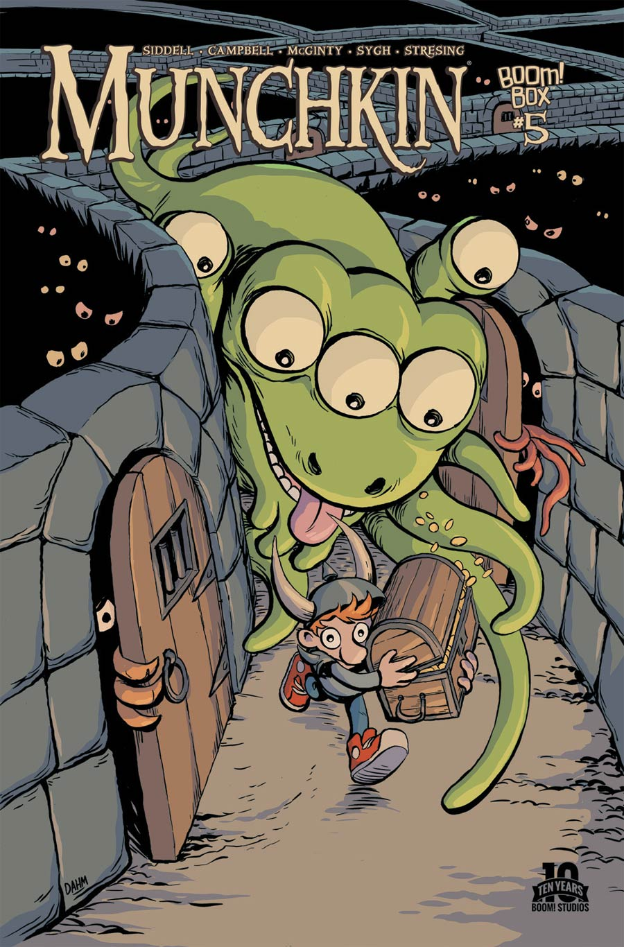 Munchkin #5 Cover A Regular Ian McGinty Cover