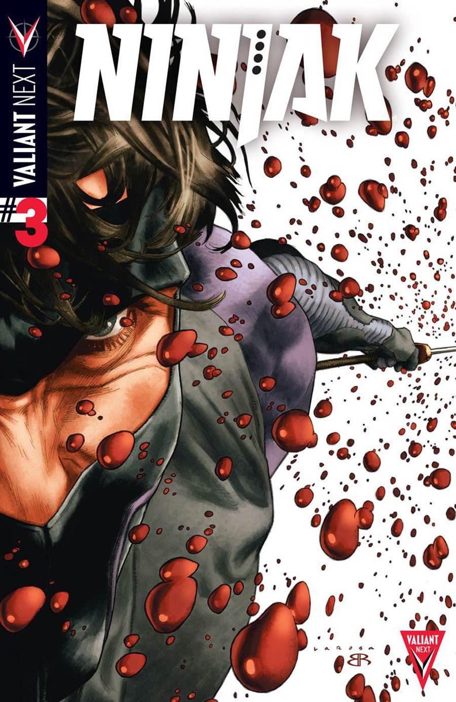 Ninjak Vol 3 #3 Cover A 1st Ptg Regular Lewis LaRosa Cover