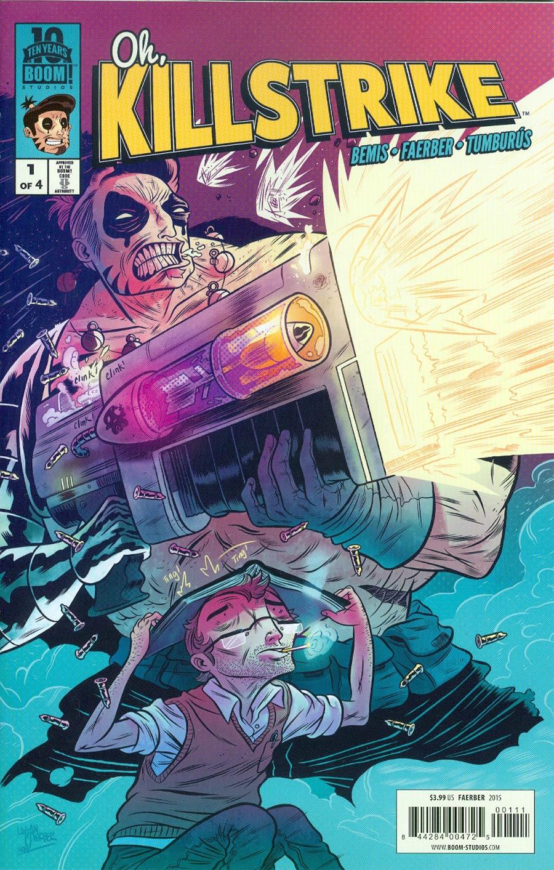 Oh Killstrike #1 Cover A Regular Logan Faerber Cover