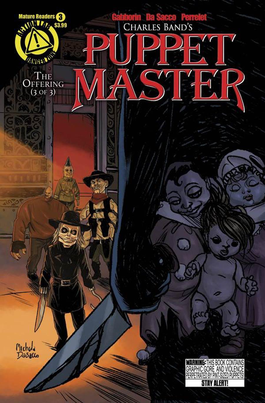 Puppet Master #3 Cover A Regular Michela Da Sacco Cover