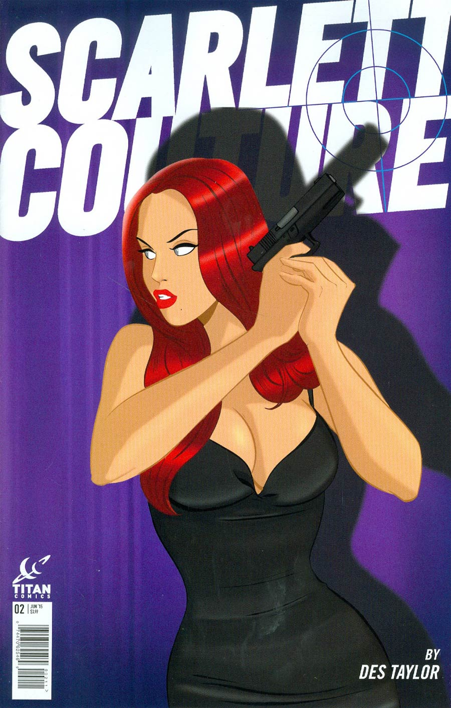 Scarlett Couture #2 Cover A Regular Des Taylor Cover