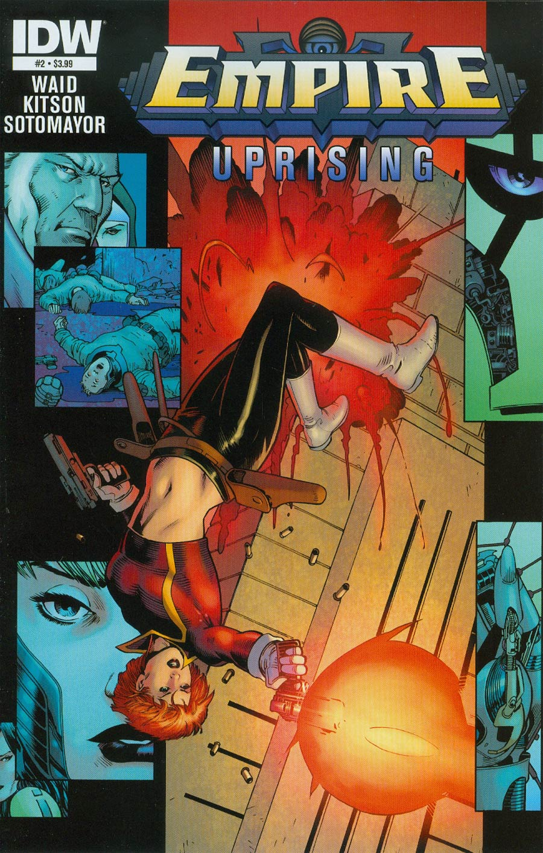 Empire Uprising #2 Cover A Regular Barry Kitson Cover