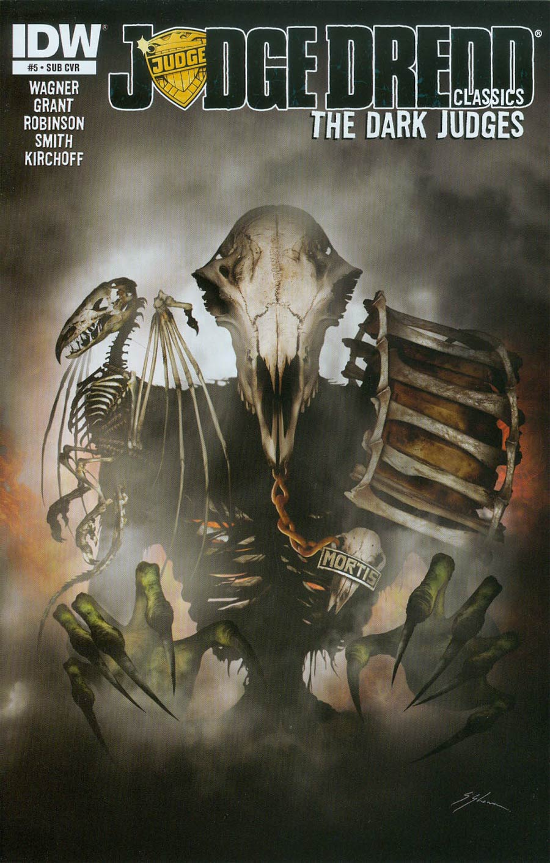 Judge Dredd Classics Dark Judges #5 Cover B Variant Sam Mister-Sam Shearon Subscription Cover