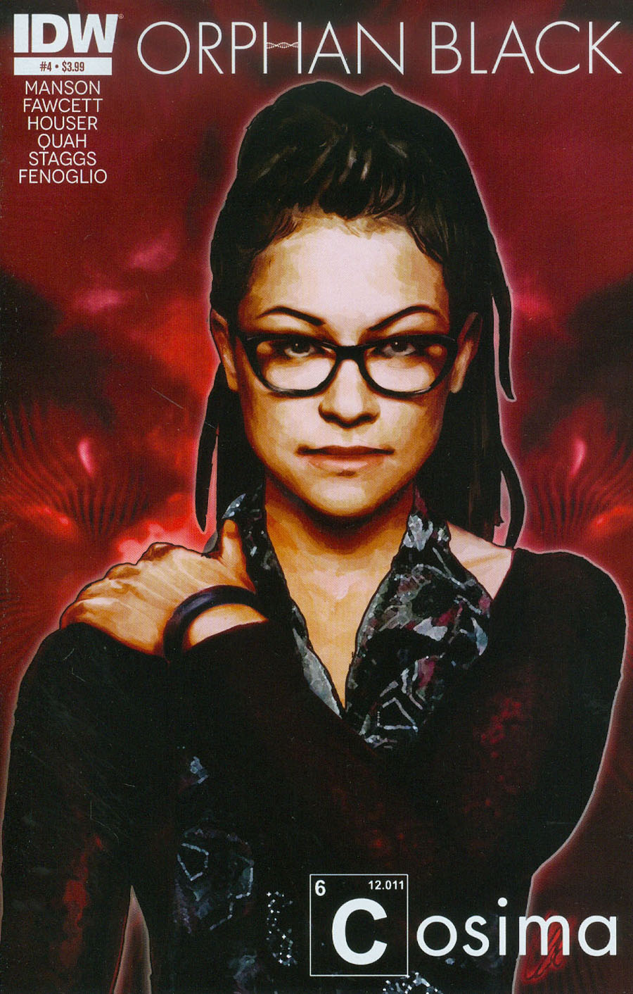 Orphan Black #4 Cover A Regular Cat Staggs Cover