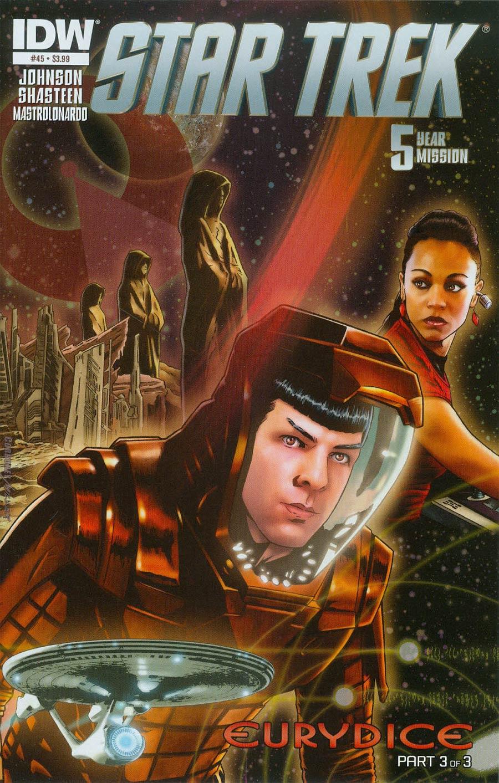Star Trek (IDW) #45 Cover A Regular Joe Corroney Cover
