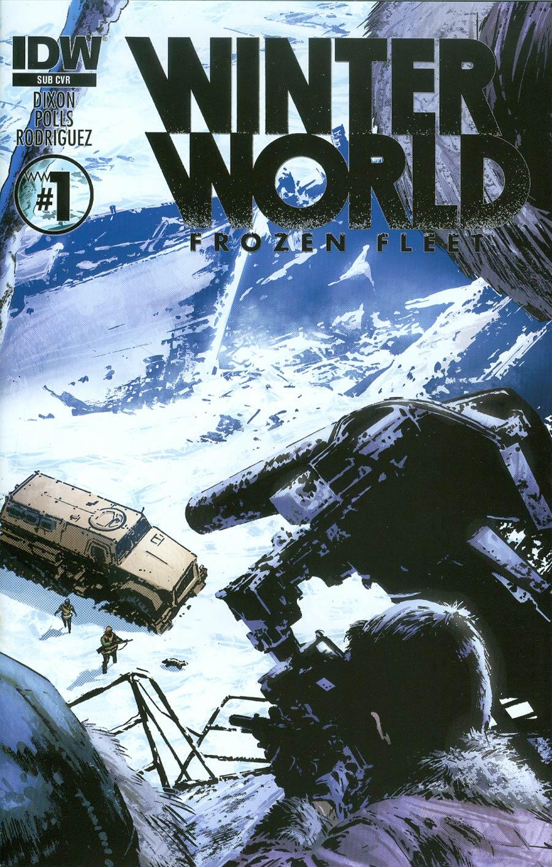 Winterworld Frozen Fleet #1 Cover B Variant Butch Guice Subscription Cover