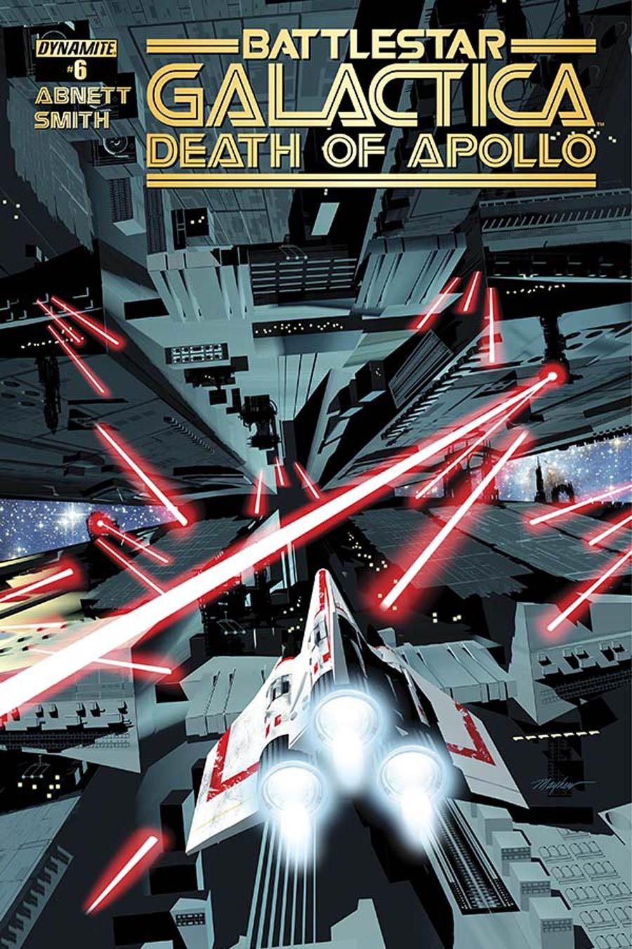 Battlestar Galactica Death Of Apollo #6 Cover A Regular Mike Mayhew Cover