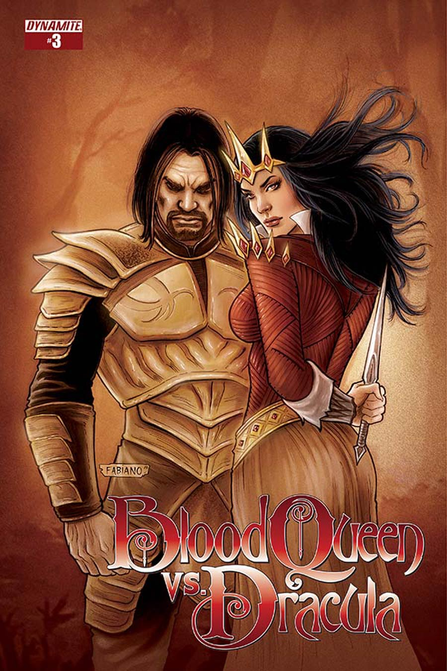 Blood Queen vs Dracula #3 Cover B Variant Fabiano Neves Subscription Cover