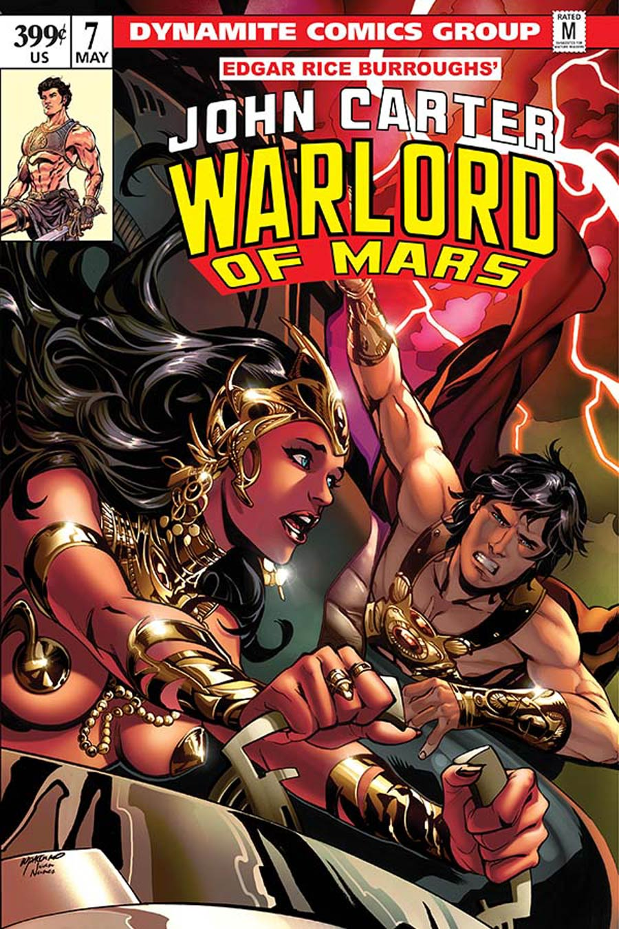 John Carter Warlord Of Mars Vol 2 #7 Cover C Variant Emanuela Lupacchino Cover