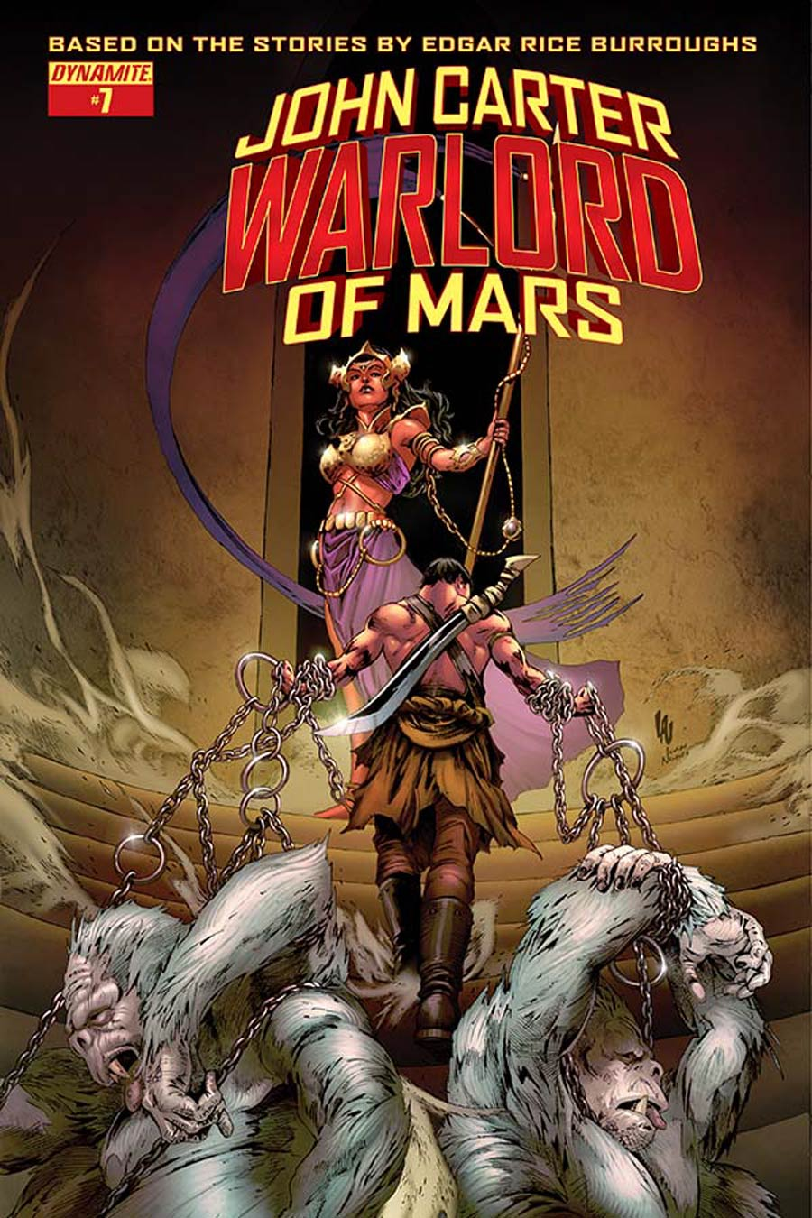 John Carter Warlord Of Mars Vol 2 #7 Cover D Variant Jonathan Lau Subscription Cover