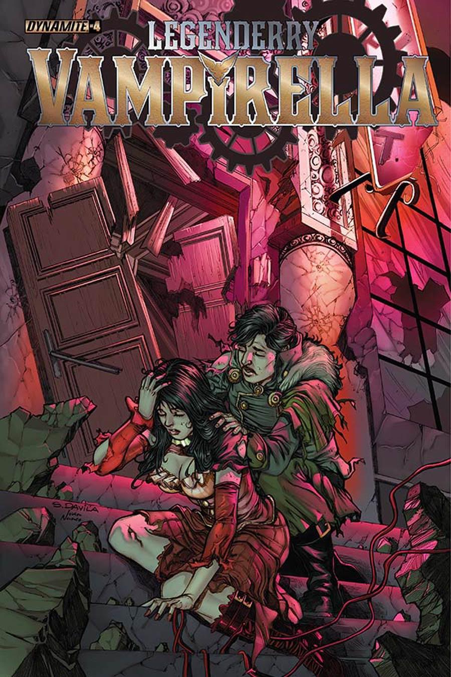 Legenderry Vampirella #4 Cover A Regular Sergio Fernandez Davila Cover