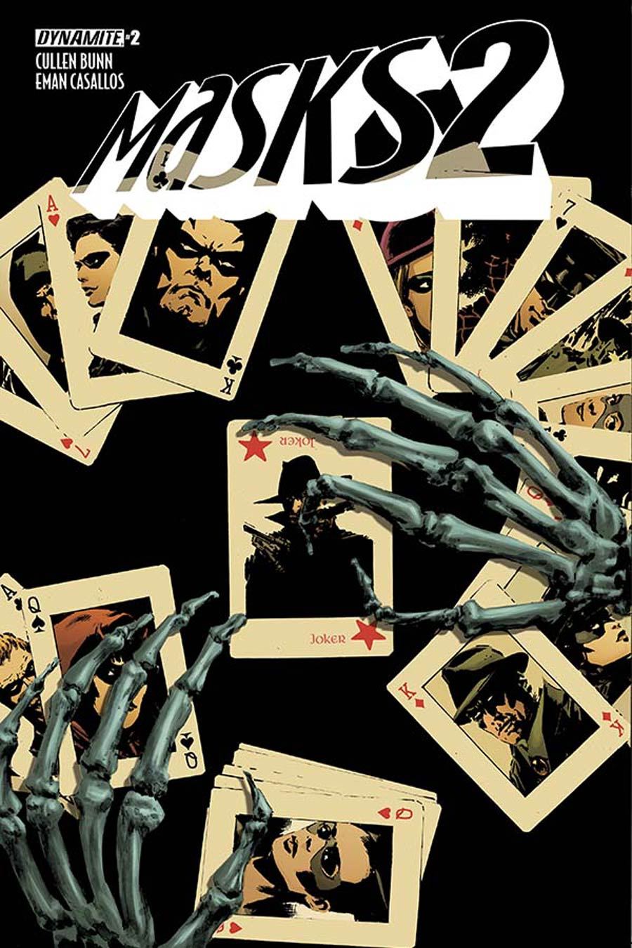 Masks 2 #2 Cover A Regular Butch Guice Cover