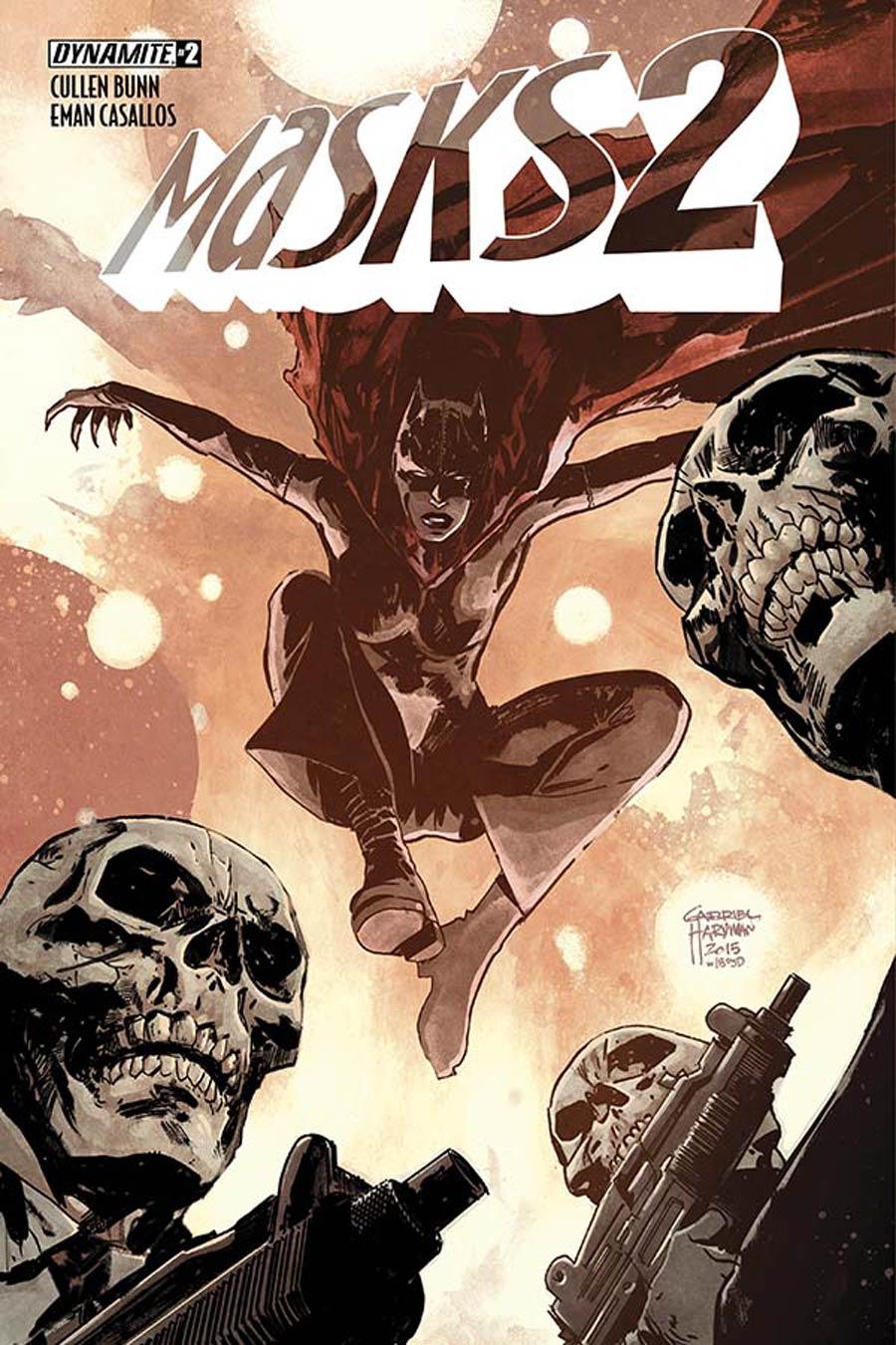 Masks 2 #2 Cover C Variant Gabriel Hardman Subscription Cover